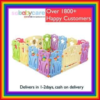 🚚 FREE DELIVERY BNIB Baby Play Yard / Fence / Gate / Playpen