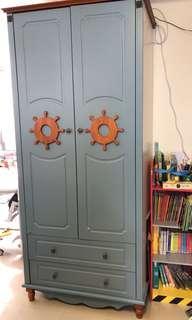 實木兒童衣櫃