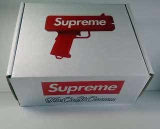 Supreme cash cannon money gun toy
