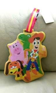 Disney Toy story 特大行李牌名牌 woody luggage tag name tag