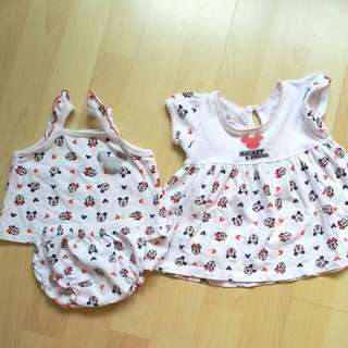Disney Baby Minnie Mouse set 0-6