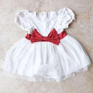 Dress anak putih