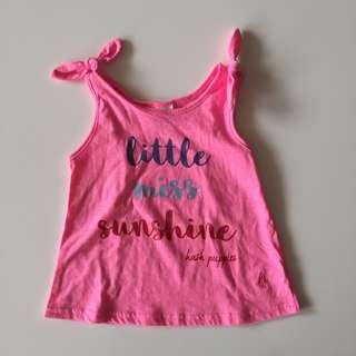 Hush Puppies Kids Knotted Tank Top