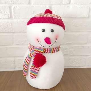 Christmas Snowman Decor Figure