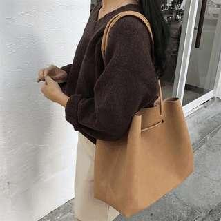 🚚 BN Leather Tote Bag