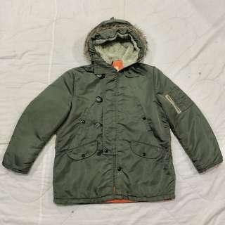 Windproof Military Parka Jacket