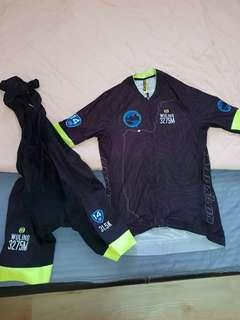 Monton jersey and bibs - S size