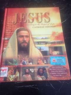 JESUS according to the Gospel of Luke (Catholic Edition) with 2 VCDs inside