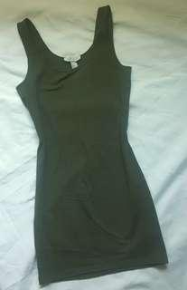 Repriced! FOREVER21 OLIVE GREEN DRESS