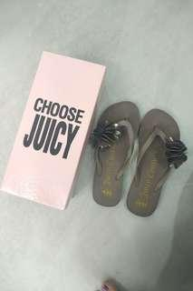 Juicy Couture Petal slippers