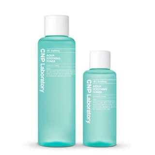 CNP Aqua Soothing Toner Set (only found in Korea!) - 200ml + 100ml
