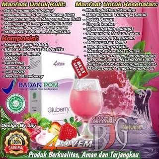 Minuman collagen GLUBERRY 😁