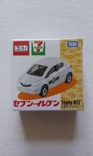 Tomica Takara Tomy 7-11 7 Eleven Toyota VITZ 車仔