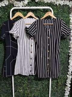 Buttoned down dress