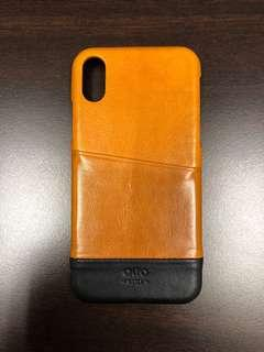 Alto Leather Back Case for iPhone XS/X
