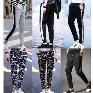 🔥Joggers Long Pants Men Women Korean Fashion New In Stock🔥