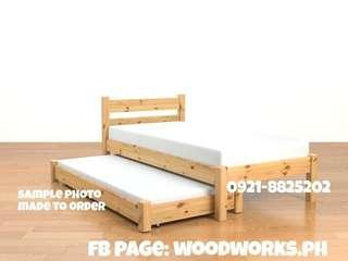 Bedframe 30x75 with pullout