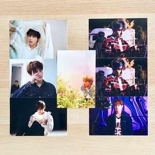 BTS 2018 Exhibition '오, 늘' 'Oh, Always' Live Photo / Photo Print 인화사진 Season 1 S1 Complete Full Kim Taehyung V Jeon Jungkook JK #1 #2 #3 #4 #5