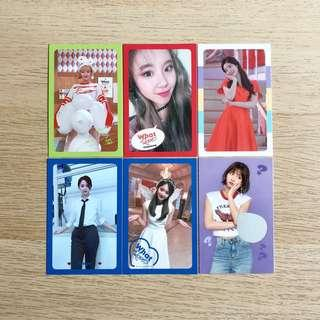 Twice What Is Love WIL Official Photocard Jeongyeon Chaeyoung Dahyun Nayeon Tzuyu