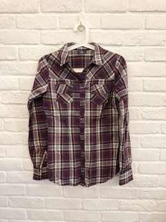🚚 Pull&Bear Checkered Shirt