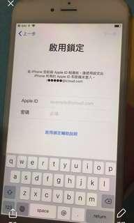 售 iphone6 plus (啟用鎖定)空機