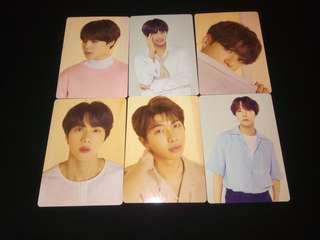 [WTS] Bts love yourself tour official mini photocard