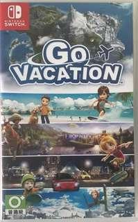 二手 Switch Go Vacation 港版 日英文