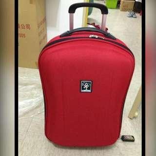 🚚 USNS 23吋造型行李箱, 紅色