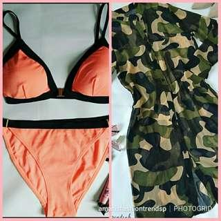 🍒SUPER SALE🍒 BEFORE: COVER UP-P390 🍑 Swimwear-P350🍑