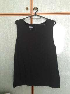 **FAST SALES** One-sided lace Sleeveless Top (black)