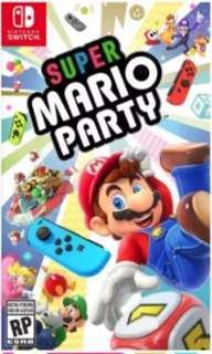🚚 [BNIB] Super Mario Party Nintendo Switch