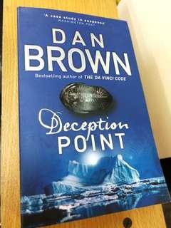Dan Brown Deception Point Preloved Book