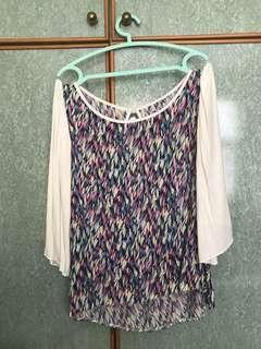 **FAST SALES** colourful Patterned top, loose fit