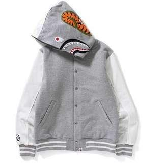 Bape Shark Tiger Varsity Jacket