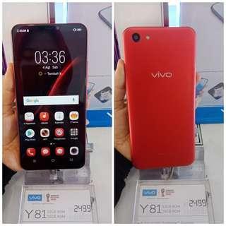 Handphone Vivo Y81 Ram 3GB/16GB