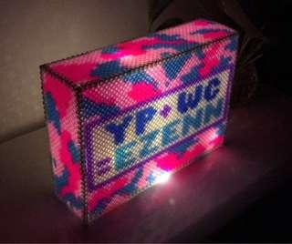 [Design A11] Personalised LightBox made with beads