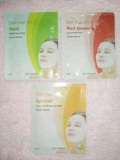 Apricot / Herb / Red Ginseng Dermal Mask