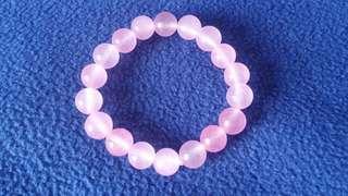 粉紅精石手鍊