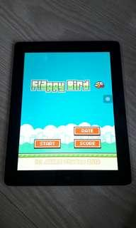 Used IPAD3 with original Flappy Bird game 16GB WIFI and Cellular