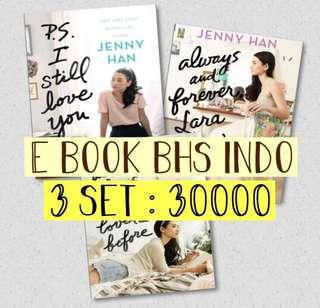 E BOOK BAHASA INDONESIA To All the Boys I've Before, dll (3 SET) - Jenny Han