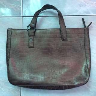 Brand New Valarie Leather Hand Bag