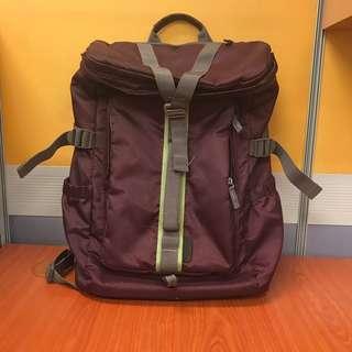 Back Pack (Deep maroon)