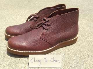 🚚 男鞋 特價 不到5折 精品 Clark 沙漠靴 牛皮休閒鞋