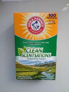 Clean Scentsations: Fabric Softener