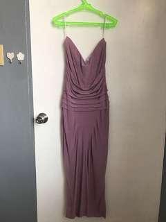 Purple Glittery Dress