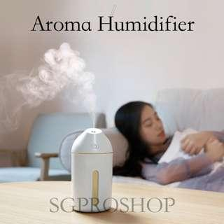 NEW AROMA HUMIDIFIER. FREE ESSENTIAL OIL + FREE COURIER DELIVERY to your doorstep. Home Air Purifier, Humidifier, Aroma Diffuser.