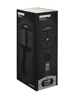 Shure Super 55 Pitch Black limited Edition