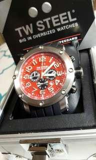 Authentic TW Steel Grandeur Tech TW125 chrono watch
