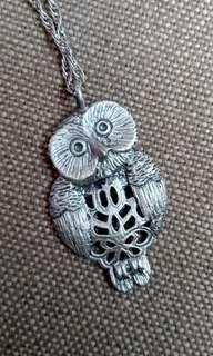 🦉 Necklace Vintage