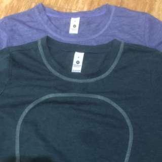 Lululemon dri fit shirt size 8